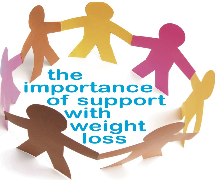 The Importance of Support with Weight Loss